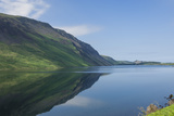 Wastwater and the Screes  Early Morning  Wasdale  Lake District National Park  Cumbria
