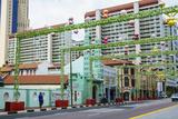 Masjid Jamae (Chulia) Mosque in South Bridge Road  Chinatown  Singapore  Southeast Asia  Asia
