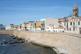 The Sea Promenade of Alghero  Sardinia  Italy  Mediterranean  Europe