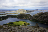 View across the Islands of Flatanger  Nord-Trondelag  Norway  Scandinavia  Europe