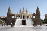 The Carved White Marble Jain Swaminarayan Temple  Gondal  Gujarat  India  Asia