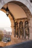 Fisherman's Bastion  Budapest  Hungary  Europe