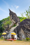 Religious Statues at Buddha Park (Xieng Khuan)  Vientiane  Laos  Indochina  Southeast Asia  Asia