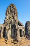 Prasat Bayon Temple Ruins  Angkor Thom  UNESCO World Heritage Site  Siem Reap Province  Cambodia
