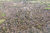 Suburban Houses in the Midlands  England  United Kingdom  Europe