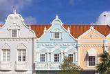 Colonial Dutch Architechure Near Main Street  Oranjestad  Aruba  Netherlands Antilles  Caribbean