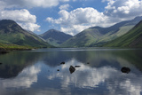 Great Gable  Lingmell  and Yewbarrow  Lake Wastwater  Wasdale