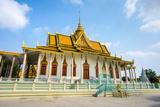 The Silver Pagoda (Wat Preah Keo Morakot)  Royal Palace  Phnom Penh  Cambodia  Indochina