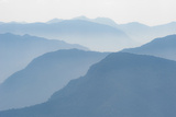 Foothills of the Himalayas in East Bhutan Take on an Ethereal Appearance in Early Morning Mist