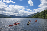 Canoes on Derwentwater  View Towards Borrowdale Valley  Keswick