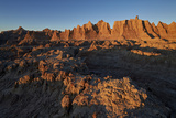 Badlands at First Light  Badlands National Park  South Dakota