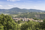 The Village of Logna in the Valnerina  Umbria  Italy  Europe