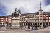 Plaza Mayor in Madrid  Spain  Europe