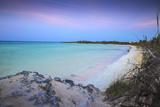 View of Playa Larga at Sunset  Cayo Coco  Jardines Del Rey  Ciego De Avila Province  Cuba