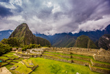 Machu Picchu Incan Ruins  UNESCO World Heritage Site  Sacred Valley  Peru  South America