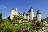 Castle of Rivau  Dated 15th Century  Lemere  Indre Et Loire  Touraine  Loire Valley  France  Europe