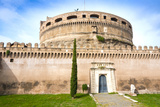 Mausoleum of Hadrian (Castel Sant'Angelo)  UNESCO World Heritage Site  Rome  Lazio  Italy  Europe