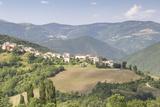 The Valnerina in Umbria  Italy  Europe