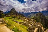 Machu Picchu Incan Ruins  UNESCO World Heritage Site  Sacred Valley  Peru  South America