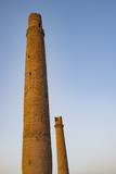 Minarets in Herat  Afghanistan  Asia