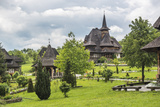Barsana Monastery  One of the Wooden Churches of Maramures  UNESCO World Heritage Site