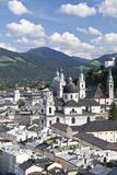 City View of Salzburg  Austria