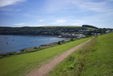 Coast Path to Kingsand and Cawsand  Rame Peninsula  Cornwall  England  United Kingdon  Europe