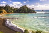 Sandy Beach on Tutukaka Coast  Northland Region  North Island  New Zealand  Pacific