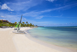 Catamarans on Playa Guardalvaca  Holguin Province  Cuba  West Indies  Caribbean  Central America