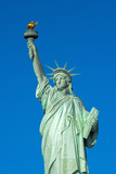 Statue of Liberty  Liberty Island  Manhattan  New York  United States of America  North America