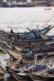 River Life  Passenger Ferries  Yangon River  Yangon (Rangoon)  Myanmar (Burma)  Asia