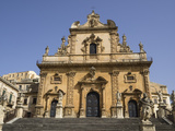 Cathedral of St Peter  UNESCO World Heritage Site  Modica  Sicily  Italy  Europe