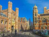 St John's College Gate  Camrbridge University  Cambridge  Cambridgeshire  England