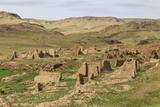 Ongiin Khiid Monastery Ruins  Saikhan Ovoo  the Gobi  Mongolia  Central Asia  Asia