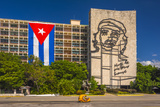 Plaza De La Revolucion  Vedado  Havana  Cuba  West Indies  Caribbean  Central America