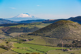The Sicilian Landscape with the Awe Inspiring Mount Etna