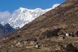 The Beautiful Village of Laya in the Himalayas  Bhutan  Asia