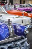 Classic 1950S American Car  La Habana Vieja  Havana  Cuba  West Indies  Caribbean  Central America