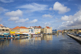 Venezuelan Boats at the Floating Market  Punda  UNESCO World Heritage Site  Willemstad  Curacao