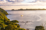 Bay of Islands at Sunrise  Seen from Russell  Northland Region  North Island  New Zealand  Pacific