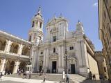 Basilica Della Santa Casa  Piazza Della Madonna  Pilgrimage Town of Loreto  Le Marche  Italy