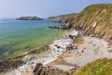 Marloes Sands  Pembrokeshire  Wales  United Kingdom  Europe