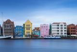 St Anna Bay Looking Towards Colonial Merchant Houses Lining Handelskade Along Punda's Waterfront