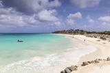 View of Divi Beach  Aruba  Lesser Antilles  Netherlands Antilles  Caribbean  Central America