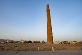 Minaret in Herat  Afghanistan  Asia