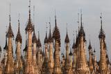 Kakku Pagoda Complex  Shan State  Myanmar (Burma)  Asia