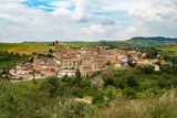 The Small Unspoilt Town of Torres Del Rio  Navarra  Spain  Europe
