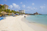 Palm Beach  Aruba  Netherlands Antilles  Caribbean  Central America