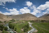 The Panjshir Valley  Afghanistan  Asia