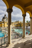 Szechenyi Thermal Baths  Budapest  Hungary  Europe